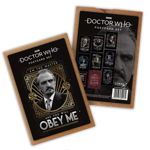 [Doctor Who: Anniversary Collection: Postcard Pack: The Master (Product Image)]