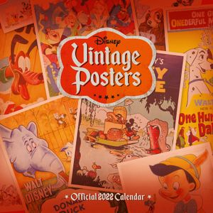 [Disney: 2022 A3 Deluxe Calendar (Product Image)]