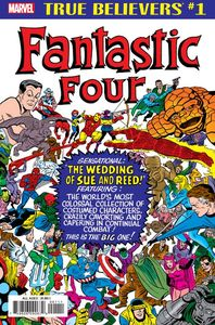 [True Believers: Fantastic Four: Wedding Of Reed & Sue #1 (Product Image)]
