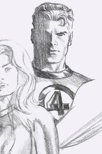 [Fantastic Four #24 (Mr Fantastic Timeless Virgin Sketch Variant) (Product Image)]