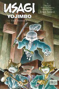 [Usagi Yojimbo: Limited Edition: Volume 33: Hidden (Hardcover) (Product Image)]