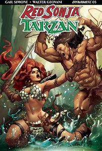 [Red Sonja/Tarzan #3 (Cover C Davila) (Product Image)]