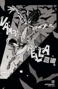 [Vampirella #12 (Gedeon Black & White Variant) (Product Image)]