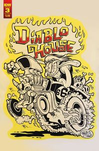 [Diablo House #3 (Cover B Dickinson) (Product Image)]