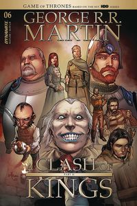 [George R.R. Martin's A Clash Of Kings #6 (Cover B Rubi) (Product Image)]