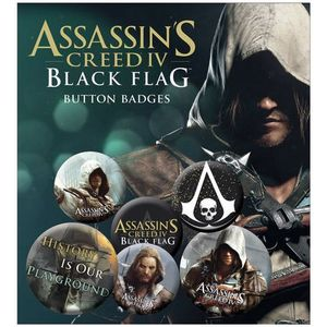 [Assassins Creed IV: Black Flag: Badge Pack (Product Image)]