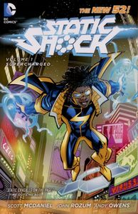 [Static Shock: Volume 1: Supercharged (Product Image)]