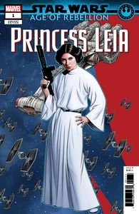 [Star Wars: Age Of Rebellion: Princess Leia #1 (Mckone Puzzle Pc Variant) (Product Image)]