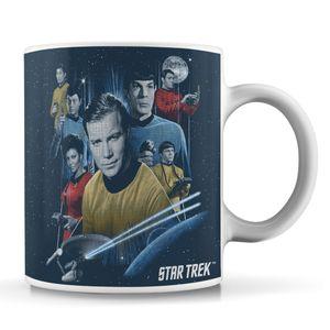[Star Trek: The Original Series: Mug: Crew & Badge (Product Image)]