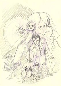 [Doctor Who Comics #1 (Cover G Momoko Virgin Sketch) (Product Image)]