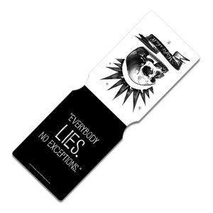 [Life Is Strange: Travel Pass Holder: Chloe's Misfit Skull (Product Image)]