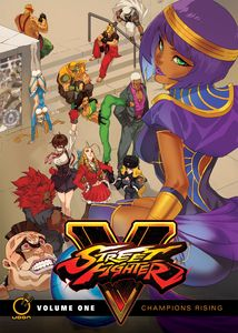 [Street Fighter V: Champions Rising: Volume 1 (Hardcover) (Product Image)]
