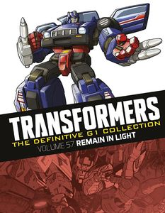 [Transformers: Definitive G1 Collection: Volume 70: Remain In Light (Product Image)]
