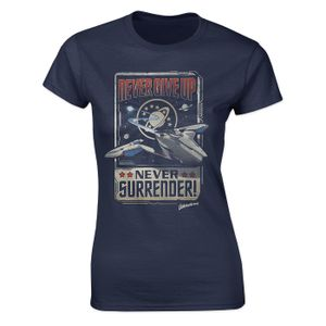 [Galaxy Quest: Women's Fit T-Shirt: Never Give Up, Never Surrender! (Product Image)]