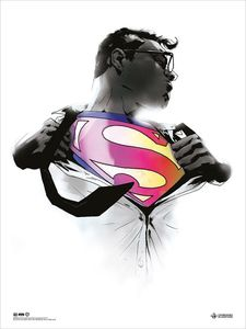 [DC: Monochrome Giclee Print: Action Comics 1000 By Jock (Signed Variant - Limited Edition) (Product Image)]