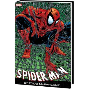 [Spider-Man By McFarlane: Omnibus (Red Blue Cost Cover New Printing Hardcover) (Product Image)]
