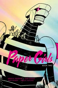 [Paper Girls: Deluxe Edition: Volume 2 (Hardcover) (Product Image)]