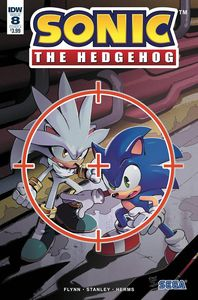 [Sonic The Hedgehog #8 (Cover A Stanley) (Product Image)]