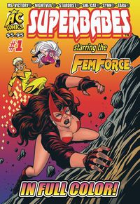 [The cover for Superbabes: Starring Femforce #1]