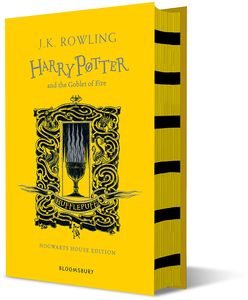 [Harry Potter & The Goblet Of Fire (Hufflepuff Edition Hardcover) (Product Image)]