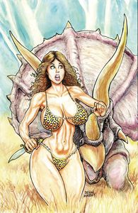 [Cavewoman: Lost #1 (Cover A Massey) (Product Image)]
