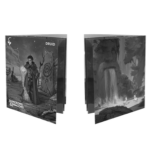 [Dungeons & Dragons: Class Folio With Stickers: Druid (Product Image)]