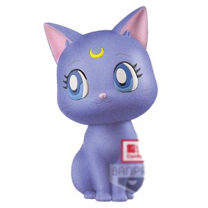 [Sailor Moon: Eternal: Fluffy Puffy Figure: Luna (Version A) (Product Image)]