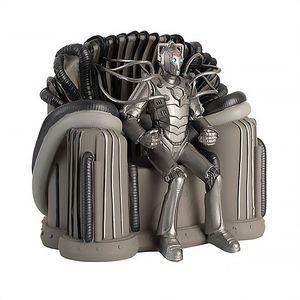[Doctor Who Figurine Collection Special #28: Cyber Leader (Throne Age) (Product Image)]