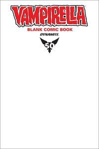 [Vampirella #1 (Blank Comic Variant) (Product Image)]