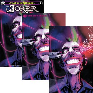 [Joker: Year Of The Villain #1 (Forbidden Planet Jock Variant Set) (Product Image)]