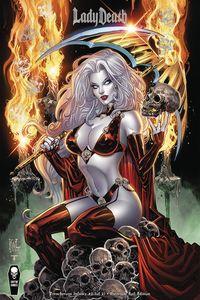 [Lady Death: Treacherous Infamy #2 (Cover C Premium Foil Edition) (Product Image)]