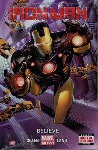 [Iron Man: Volume 1: Believe (Premier Edition Hardcover) (Product Image)]