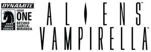 [Aliens/Vampirella #1 (Cover B Blank Authentix) (Product Image)]