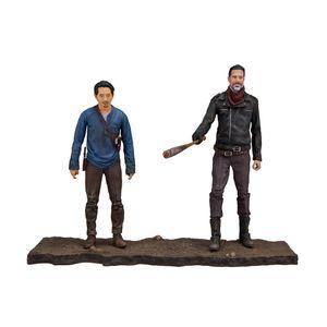 [Walking Dead: Action Figure: Deluxe Box Set: Negan & Glenn (Product Image)]