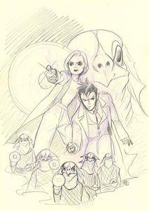 [Doctor Who Comics #1 (Cover G Momoko Virgin Sketch) (Product Image)]