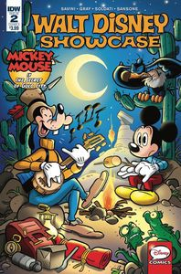 [Walt Disney Showcase #2 (Mickey Mouse Cover A) (Product Image)]