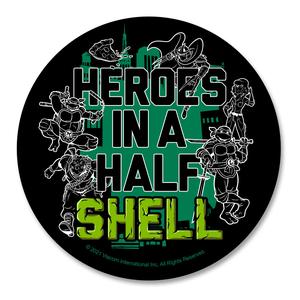 [Teenage Mutant Ninja Turtles: Coaster: Half Shell Quote (Product Image)]