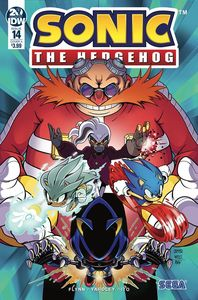 [Sonic The Hedgehog #14 (Cover A Wells) (Product Image)]