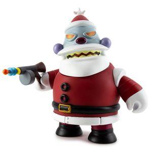 [Kidrobot: Futurama: Medium Figure: Robot Santa (Naughty) (Product Image)]