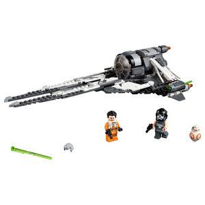 [LEGO: Star Wars: Resistance: Black Ace TIE Interceptor (Product Image)]