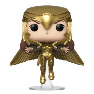 [Wonder Woman 1984: Pop! Vinyl Figure: Wonder Woman Gold Armour (Flying Pose) (Product Image)]