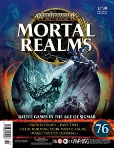 [Warhammer: Age Of Sigmar: Mortal Realms #76 (Product Image)]