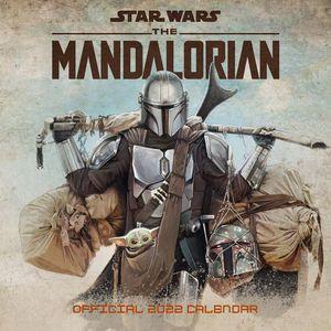 [Star Wars: The Mandalorian: 2022 Square Calendar (Product Image)]