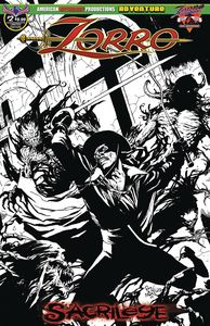 [Zorro: Sacrilege #2 (Limited Edition Cover) (Product Image)]