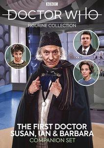 [Doctor Who Figurine Collection Companion Set #8: 1st Doctor, Susan, Ian & Barbara (Product Image)]