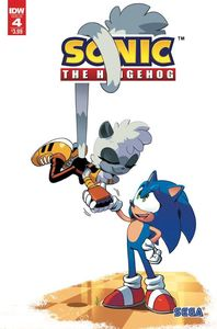 [Sonic The Hedgehog #4 (2nd Printing) (Product Image)]