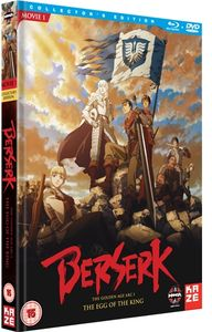 [Berserk: Film 1: Egg Of The King: Collectors Edition (Blu-Ray/DVD) (Product Image)]