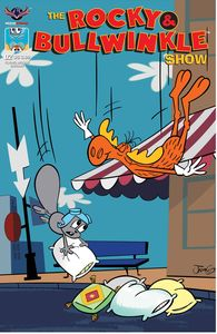 [Rocky & Bullwinkle Show #2 (Flying Moose Greenawalt Cover) (Product Image)]