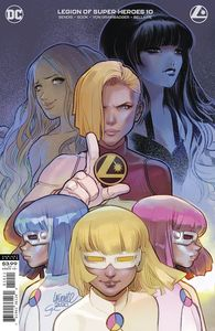 [Legion Of Super Heroes #10 (Darko Lafuente Variant Edition) (Product Image)]