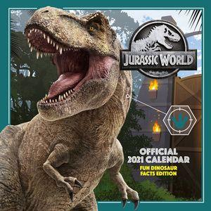 [Jurassic World: 2021 Square Calendar (Product Image)]